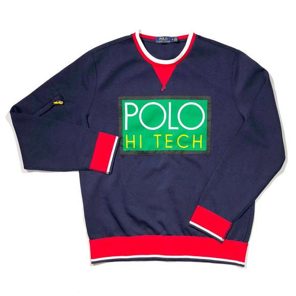 Blue Label Polo Ralph Lauren Hi Tech Navy Medium V